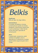 Nombre Belkis