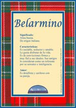 Nombre Belarmino