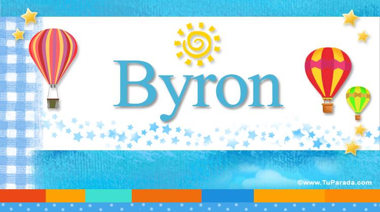 Byron, imagen de Byron