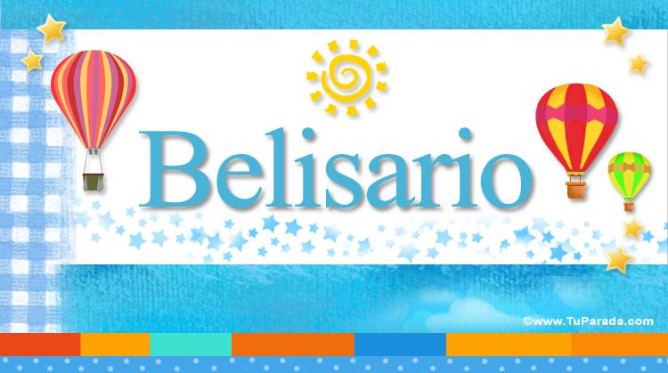 Belisario, imagen de Belisario