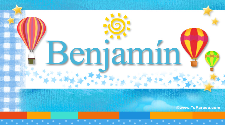 Benjamín, imagen de Benjamín