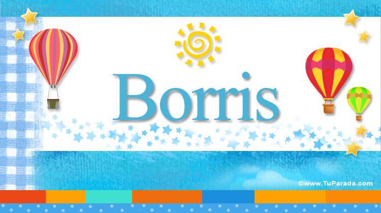 Borris, imagen de Borris