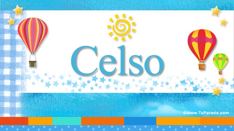 Celso, imagen de Celso