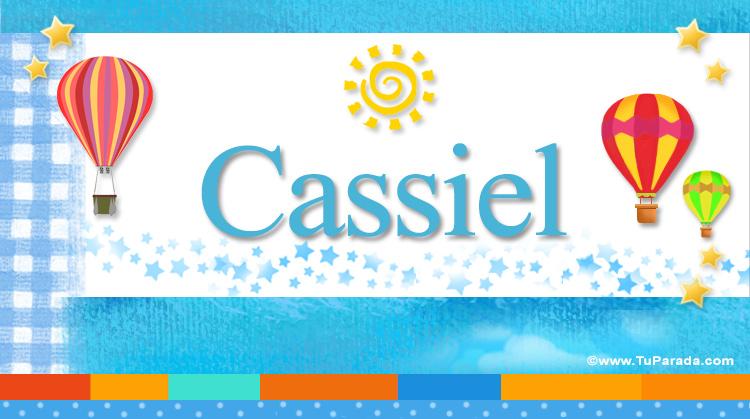 Cassiel, imagen de Cassiel