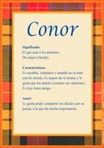 Nombre Conor