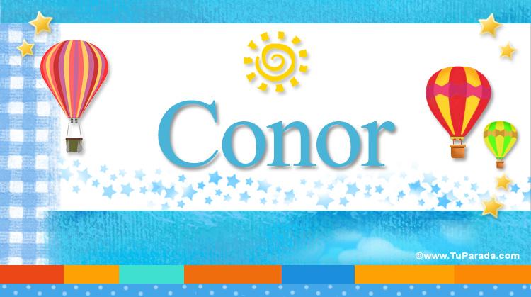 Conor, imagen de Conor
