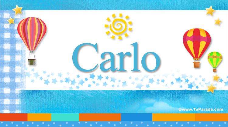 Carlo, imagen de Carlo