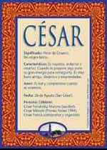 Nombre César
