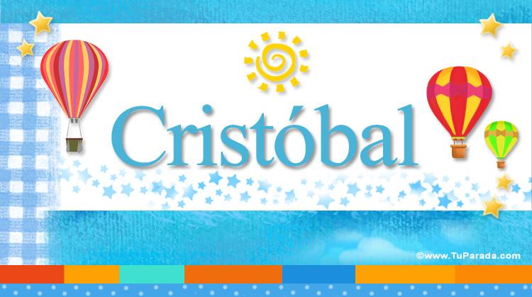 Cristóbal, imagen de Cristóbal