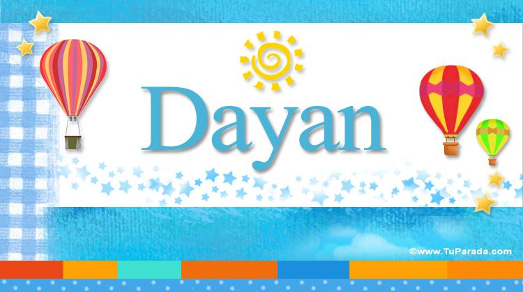 Dayan, imagen de Dayan