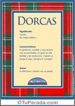 Nombre Dorcas