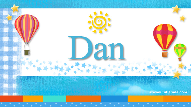 Dan, imagen de Dan