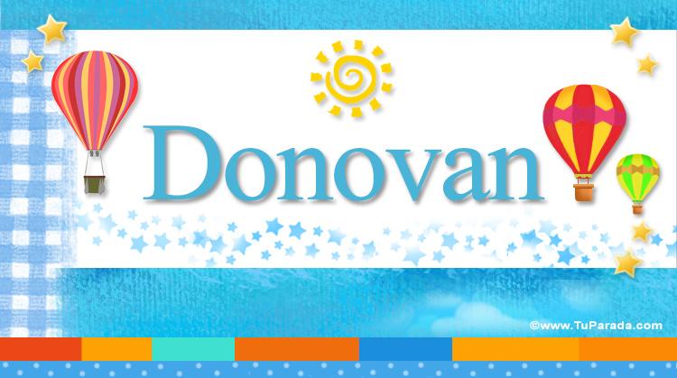 Donovan, imagen de Donovan
