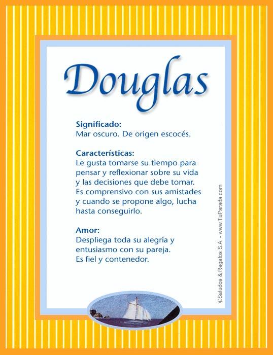 Douglas, imagen de Douglas
