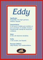 Origen y significado de Eddy