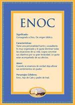 Origen y significado de Enoc