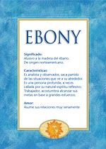 Nombre Ebony