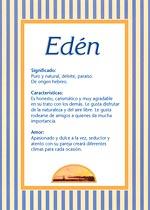 Nombre Edén
