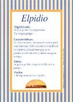 Nombre Elpidio
