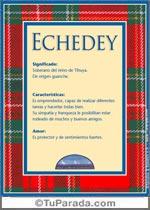 Nombre Echedey