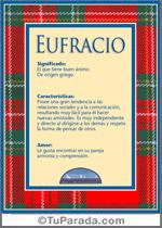 Nombre Eufracio