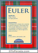 Nombre Euler