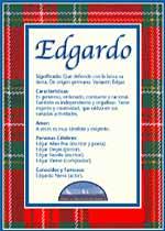 Nombre Edgardo