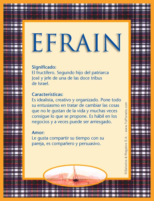 Efrain, imagen de Efrain