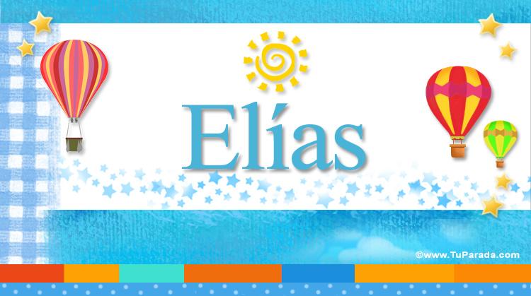 Elías, imagen de Elías
