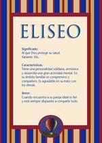 Origen y significado de Eliseo