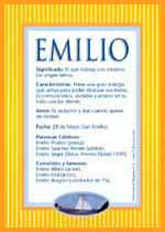 Nombre Emilio