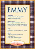 Nombre Emmy