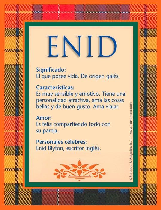 Enid, imagen de Enid