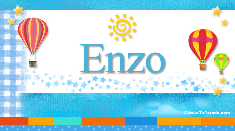 Enzo, imagen de Enzo