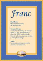 Nombre Franc