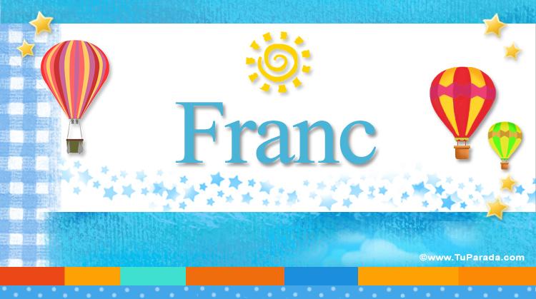 Franc, imagen de Franc