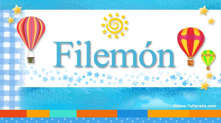 Filemón, imagen de Filemón