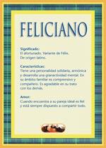 Nombre Feliciano