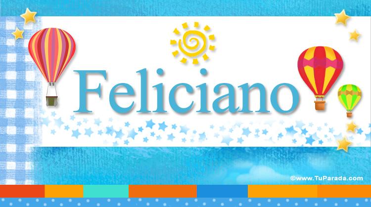 Feliciano, imagen de Feliciano