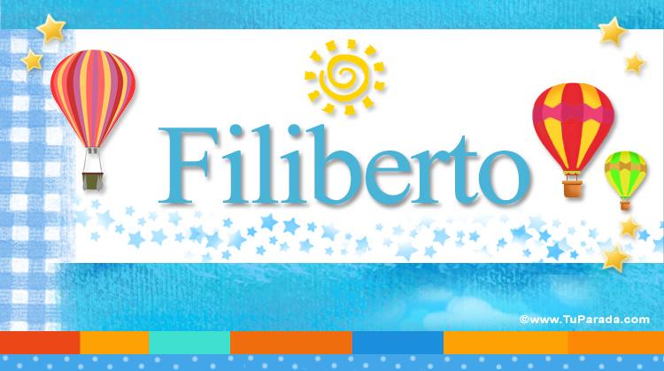 Filiberto, imagen de Filiberto