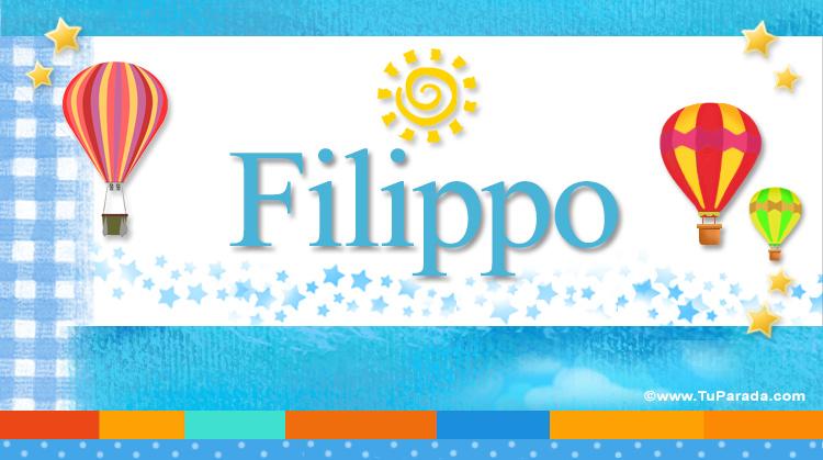 Filippo, imagen de Filippo