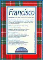 Origen y significado de Francisco