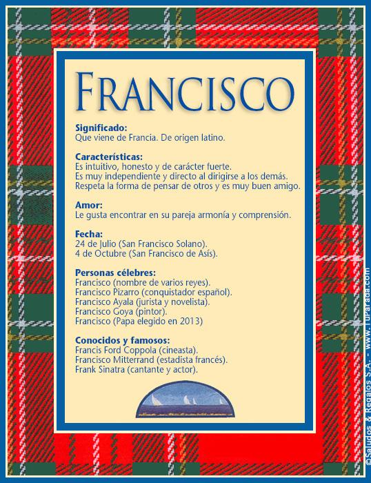 Francisco, imagen de Francisco