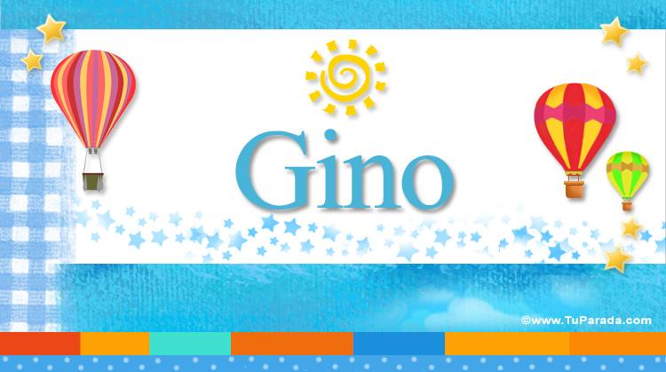 Gino, imagen de Gino