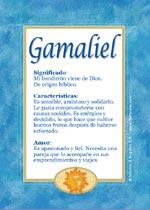 Nombre Gamaliel