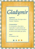 Nombre Gladymir