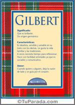 Nombre Gilbert