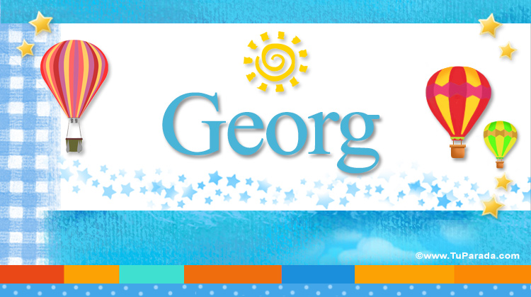 Georg, imagen de Georg
