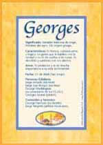 Nombre Georges