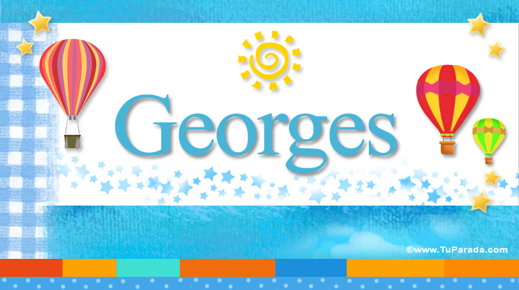 Georges, imagen de Georges